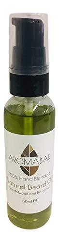 Bartöl 60ml mit Sandelholz & Patchouli Natürliche Öle - Feuchtigkeitsspendende Patchouli Öl