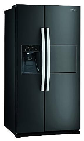 Gorenje NRS 9182 CBBK Side-by-Side / A++ / 177 cm / 329 kWh/Jahr / 353 L Kühlteil / 159 L Gefrierteil / Multi Flow 360 Grad Kühlsystem / schwarz