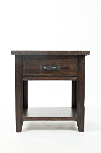 Jofran Jackson Lodge Nachttisch mit 1 Schublade Natürlich 24