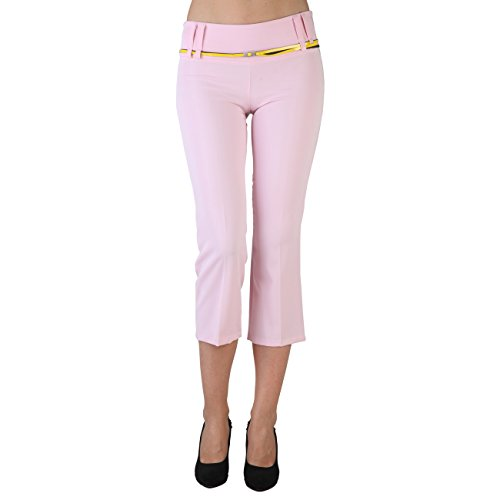 Extyn -  Pantaloni  - Pantalone capri - Donna rosa rosa