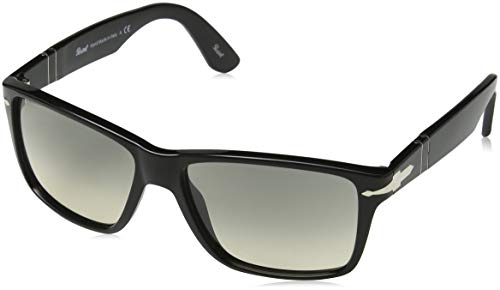 Persol Herren 0Po3195S 104132 58 Sonnenbrille, Schwarz (Black/Grey),