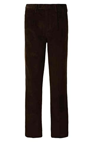 Alexanders of London – Pantalon – À Pinces – Basic – Homme marron Chocolat