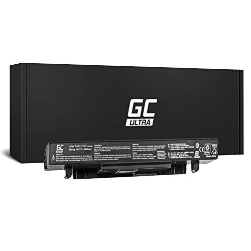 Green Cell® ULTRA Serie A41-X550A Batería para Asus R510 R510C R510CA R510CC R510E R510J R510JK R510L R510LB R510LN R510V R510VC Ordenador (Las Celdas Originales Panasonic, 3400mAh, Negro)