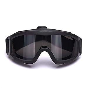 Schutzbrille Getönt Augenschutz Wüste Winddicht Anti Fog Und Sand Cs Taktische Paintball Schießbrille Locust Brille Damen Herren