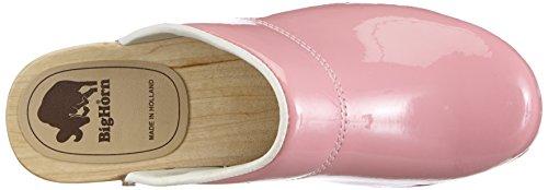Gevavi  380 BIGHORN flexibler, Mules femmes Rose - Pink (rosa(roze lak) 87)
