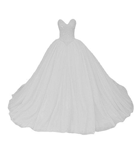 O.D.W Damen A-Linie Lange Einfache Gotisch Brautkleider Mittelalterliches Vintage...