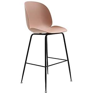 STOOL Bar, Café, Restaurant Stuhl, Barhocker Barhocker Make-Up Hocker Counter Stuhl Für Frühstück Küche Café Mit Fußstütze Amp; Komfortable Rückenlehne Sitz 63Cm Hoch,# 5