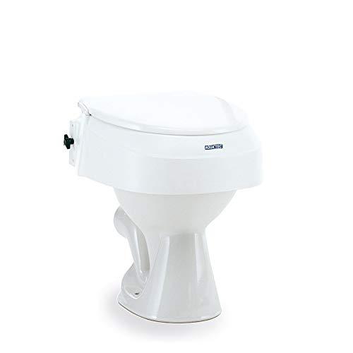 AQUATEC 900 Toilettensitz Erhöhung o. Armlehnen, Toilettenhilfen