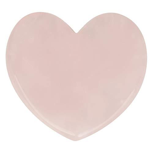Dewin Schabeplatte natürliche Rosenquarz Crystal Healing Massage Stein, Gesundheit, Abwaschplatte, schabende Massage