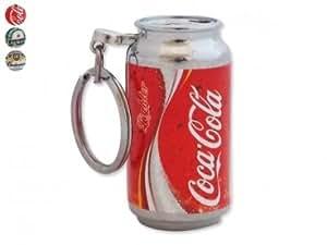Briquet gaz insolite canette soda ou bière avec porte-clés Budweiser rechargable fumeur accessoire gaz insolite