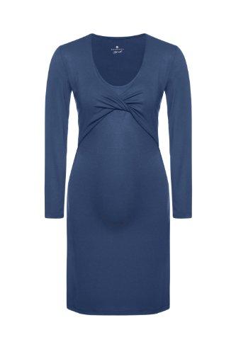 Bellybutton - Pigiama Premaman, donna, Blu (Blau (deep blue 42100)), L
