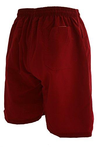 Herren Badeshorts in verschiedenen Farben. Shorts, Badehose, Surfshort Bordeaux