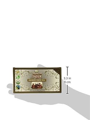 Thé blanc biologique, 25 boîtes de compte
