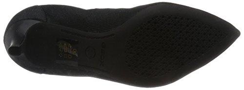 Geox - D Elina B, Sandalo Con Tacco da donna Nero (BLACKC9999)