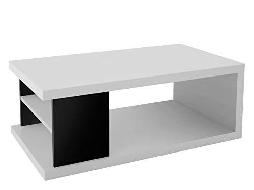 Mirjan24  Couchtisch Wohnzimmertisch Lumia 4PC, 110 x 60 x 41 cm, Kaffeetisch, Ablagefach, Sofatisch, Modern Salontisch, Stilvoll,