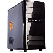 iTek Pirate Midi Tower Case per PC, 500 W, Nero