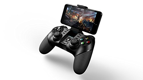 Price comparison product image iPega 9076 Gaming Bluetooth Wireless Gamepad for Windows 10 Gaming PC,  Android TV Set-Top BOX,  Android Tablet,  Android Smartphone Samsung Galaxy S9,  Note 9,  Google Pixel,  OnePlus 6T,  SONY,  HTC