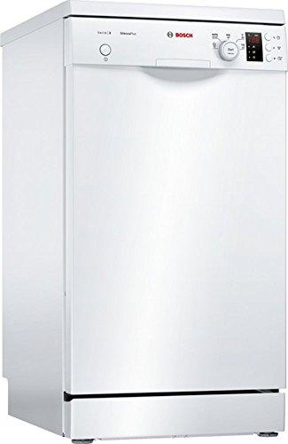 Bosch sps25cw03e Lave-vaisselle autonome/A +/220 kWh/an/2380 L/AN/Silence de Départ différé/Eco Drive/Blanc