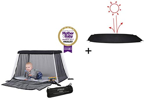 Phil&Teds Reisebett + Matratze + 1 Spannbetttuch traveller travel crib (Version 4) + 1 Sonnenschutz
