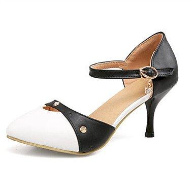 Moda Donna Sandali Sexy donna tacchi Primavera / Estate / Autunno Comfort Nozze in similpelle / Ufficio / abito / Casual Stiletto Heel Altri Blue