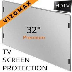 32-Zoll-Vizomax TV-Bildschirm-Schutz für LCD, LED und Plasma-HDTV. UV-Schutz, Fernseher-Displayschutz Protector Lcd-led-hdtv