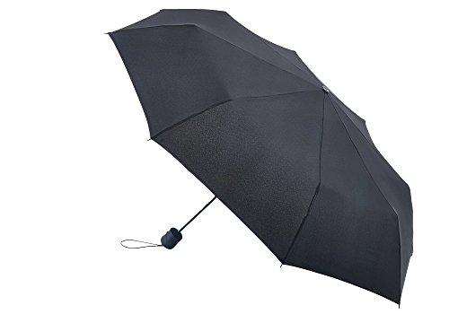 FULTON Hurricane Regenschirm, Schwarz, Einheitsgröße