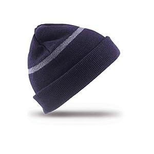 Result Headwear Wasserabweisende Skimütze bis -30°C Kälte RC033J , Farbe:Navy