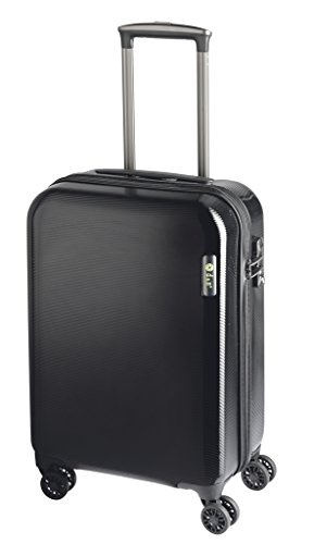 D&N by Lefox Trolley 54 cm (8) dn250 Noir ABS Board bagages 4rä. TSA Travel Line 8200 D & N