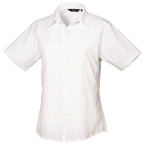 Premier Damen Bluse Weiß - Weiß