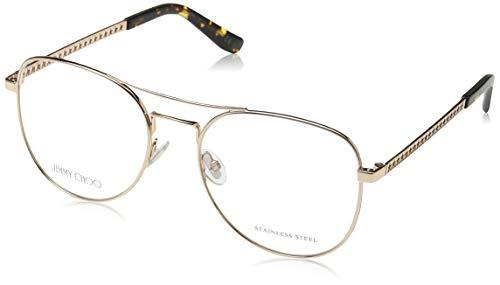 Jimmy Choo Damen JC200 J5G 54 Sonnenbrille, Gold,