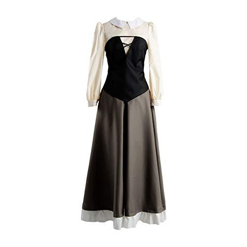 MingoTor Princess Prinzessin Kleid Cosplay Kostüm Damen (Princess Aurora Kostüm Für Erwachsene)
