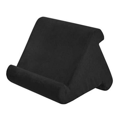 ZYBC Tablet Ständer Kissen, Multi Angle Soft Bed Pillow Holder Tragbarer Dreieck Tablet Ständer Für Tablets, Smartphones, Bücher (BLA)