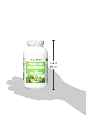 Dr Mercola Wholefood Multivitamin Plus Vital Minerals (240 Tablets) from Dr. Mercola