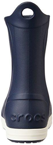 Crocs Bumpitbootk, Stivaletti Unisex – Bambini Blu (Navy/Oyster)