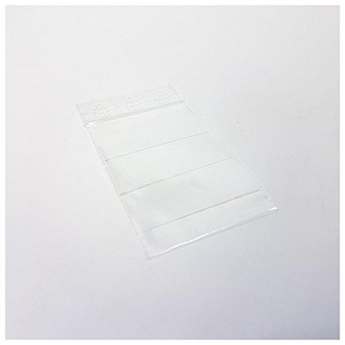 Dönges Druckverschlussbeutel, weißes Schriftfeld, 120 x 170 mm