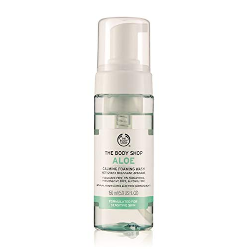 Die Body Shop Aloe Sanfte Gesicht zu Waschen Für Empfindliche Haut 150ml / The Body Shop Aloe Gentle Facial Wash 150ml FOR SENSITIVE SKIN -