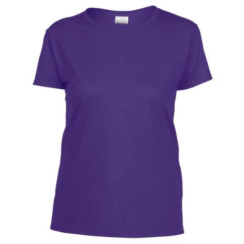 Gildan - T-shirt à manches courtes coupe féminine - Femme Lilas