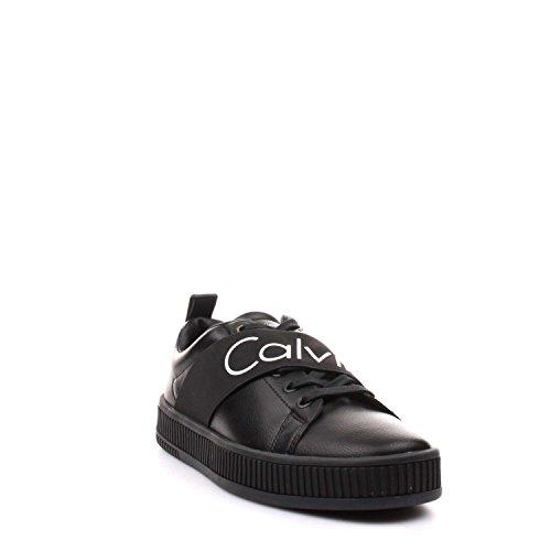 Calvin Élastique Nappa Klein Uomo Nero Milton Sneaker Lisse pArScwpq