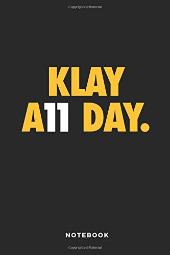 Klay A11 Day Notebook: 6x9 Blank Lined Basketball Composition Notebook or Journal for Coaches and Players por iHoop Publishing