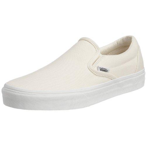 Vans Unisex Adult Classic Slip-on Schuhe in Weiß, EUR: 42.5, White - Schuhe Slip-on Herren Vans White