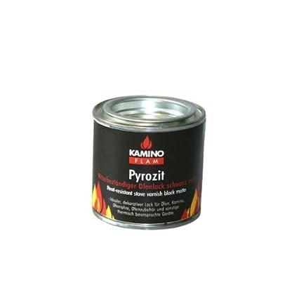 Kamino – Flam Barniz Líquido para Chimenea, Negro, 5x5x5 cm