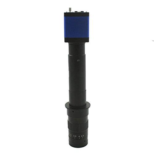 Full HD 1080P Industrie Mikroskop Kamera HDMI USB Ausgänge & 10x 300x C-Mount Objektiv PCB Inspektion und Wartung