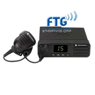 MOTOROLA DM4401 MFG VHF 136-174MHz inkl. Mikro, Montagesatz, Batteriekabel, Bedienungsanleitung + kundenspezifische Programmierung