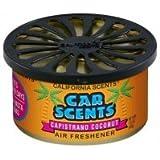 California Capristrano Coconut Boite diffuseur d'odeur pour voiture parfum noix de coco