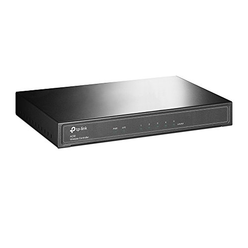 TP-Link AC50 Wireless CAP Controller (Auto-Detect and Centralised Management, Upto 50 CAPs, Complete Scalability Without the License Fees, Dual-Link Back-Up - Wlan-controller