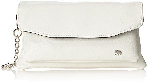 Tom Tailor Denim Damen Nicole Clutch, Weiß (Weiß), 6.5x14.5x26.5 cm (Toms-frauen-weiß Schuhe)