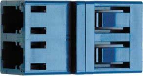 Telegärtner LC-Duplex Stecker J08070A0000 Singlemode, Keramik LWL-Steckverbinder 4018359319205 -