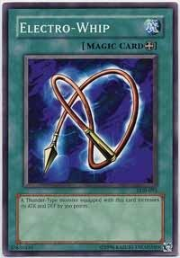 Yu-Gi-Oh! - Electro-Whip (LOB-093) - Legend of Blue Eyes White