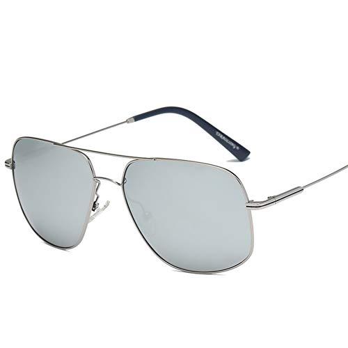 QTQHOME Sonnenbrille Für Herren Aviator Military,polarisierter Uv-schutz Gegen Blendung Geeignet Für Wandergolf-gun Frame Quecksilberfolie 14.3x14cm(6x6inch)