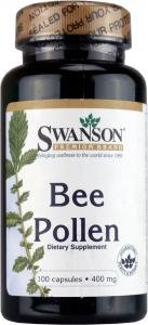Swanson Bee Pollen (400mg, 100 Capsules) by Swanson Health Products